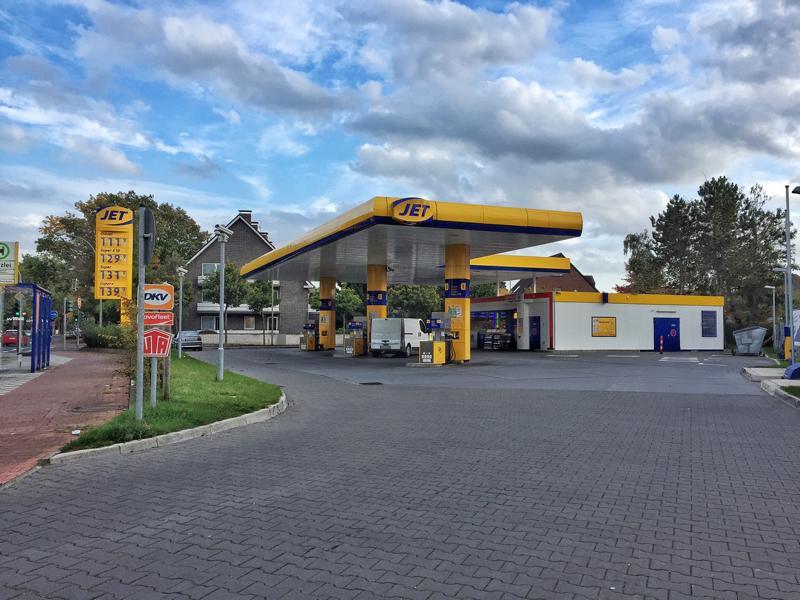Jet Tankstelle in Büderich