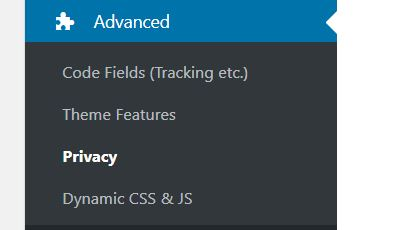 Avada Privacy