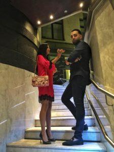 Amel Mirzaei im Interview mit Klaudija Paunovic