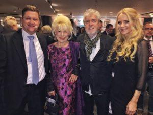 Rüdiger Muhl, Renate Blumentrath, Manfred Vogelsänger und Manuela Jansen