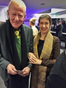Rainer Gornemann mit seiner Frau