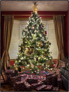 Klassischer Weihnachtsbaum