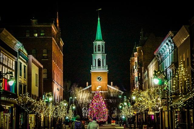 Weihnachten Stadt