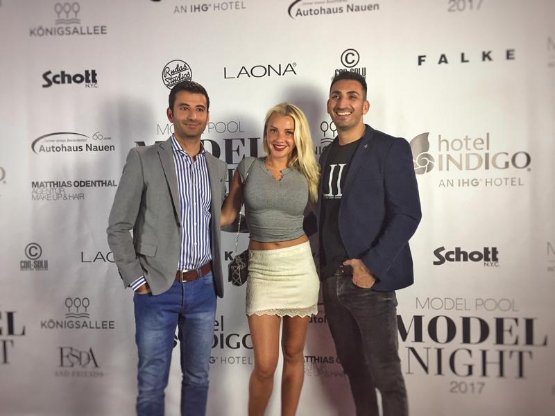 Cihan Dogan, Evelyn Burdecki und Mustafa Alin