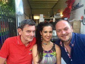 Kalle Wahle, Martin Heyer, Klaudija Paunovic, CSD Düsseldorf