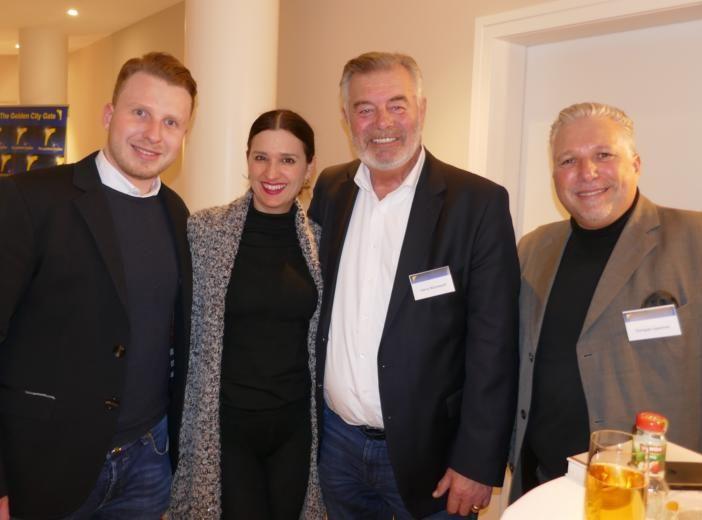 Das goldene Stadttor 2019, Jurysitzung am Petersberg, Tracie Etienne Lepehne, Klaudija Paunovic, Harry Wijnvoord, Enrique Lepehne