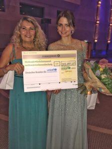 Eva Padberg, Unicef Gala Neuss 2017