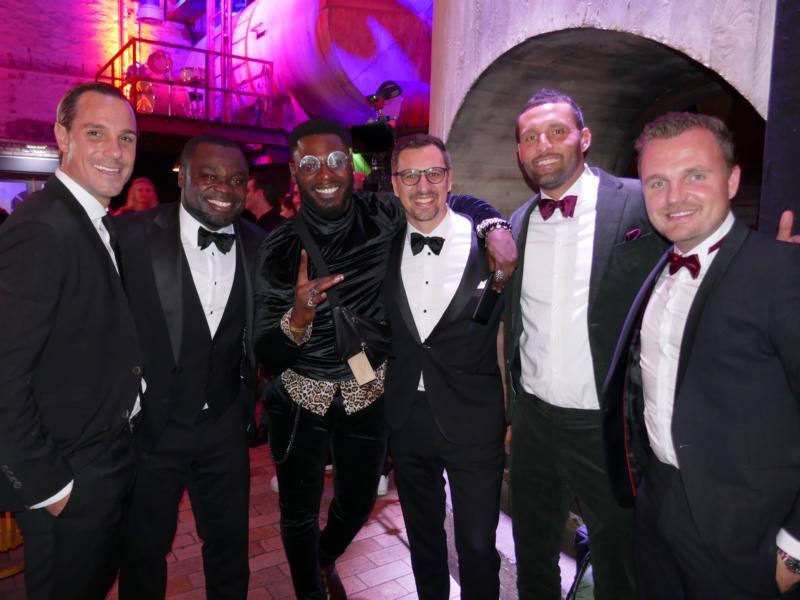 Gerald Asamoah & Friends auf der Gala der herzen 2019