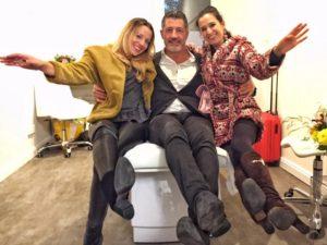 Nadine Löchner, Giovanni Costello und Klaudija Paunovic