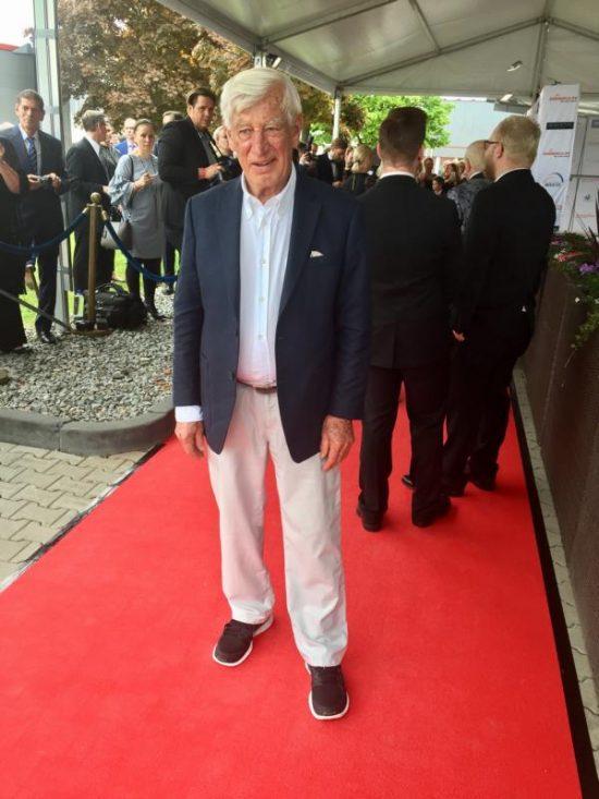 Siegfried Rauch auf der Verleihung der goldenen Sonne 2017