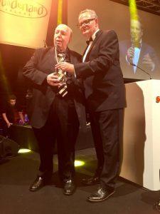 Rainer Calmund und Uli Potofski auf der Verleihung der goldenen Sonne 2017