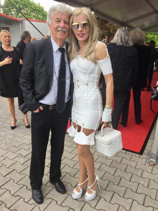 Hans Georg und Gisela Muth auf der Verleihung der goldenen Sonne 2017