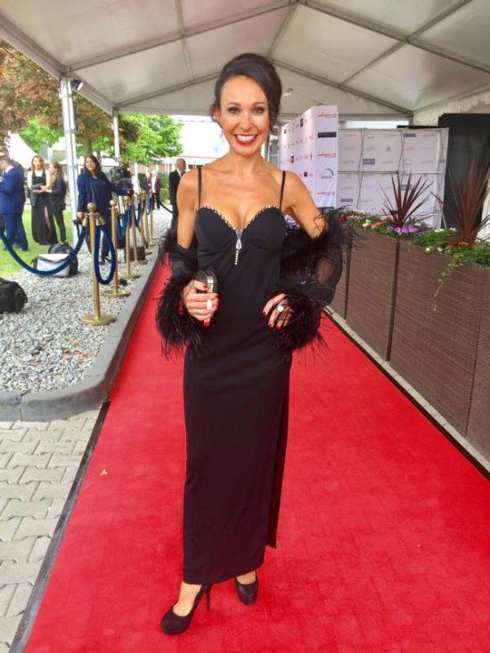 Mary Amiri auf der Verleihung der goldenen Sonne 2017