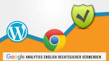 Google datenschutzrechtlich konform auf Wordpress einbinden