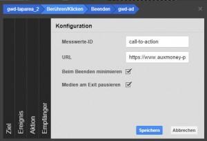 call to action button google web designer