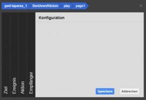 Google Web Designer Ereignis abspielen