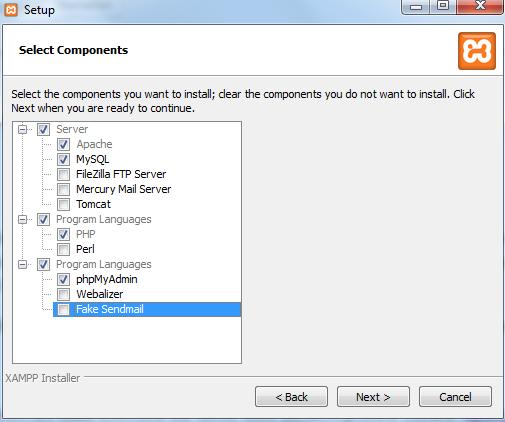 XAMPP Testserver einrichten