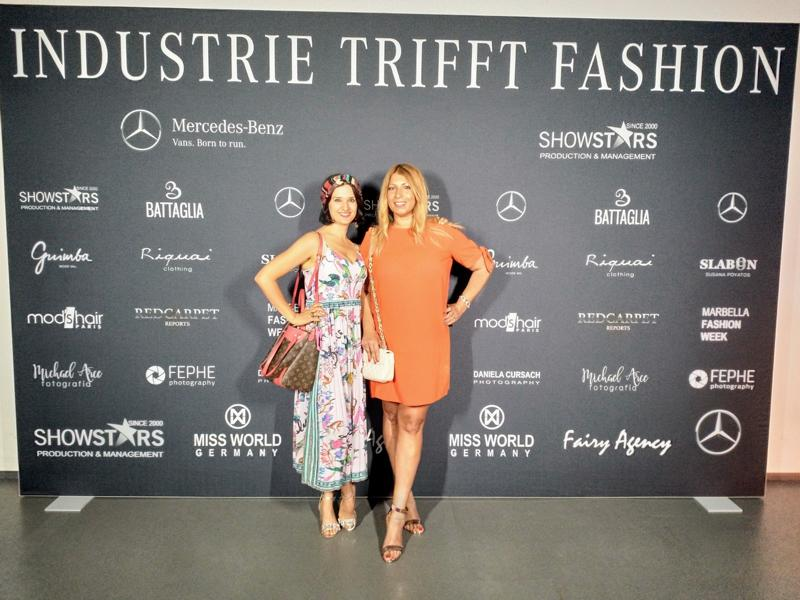 Industrie trifft Fashion,Mercedes-benz-fashion-show 2018, Klaudija Paunovic, Nicoleta Jutka
