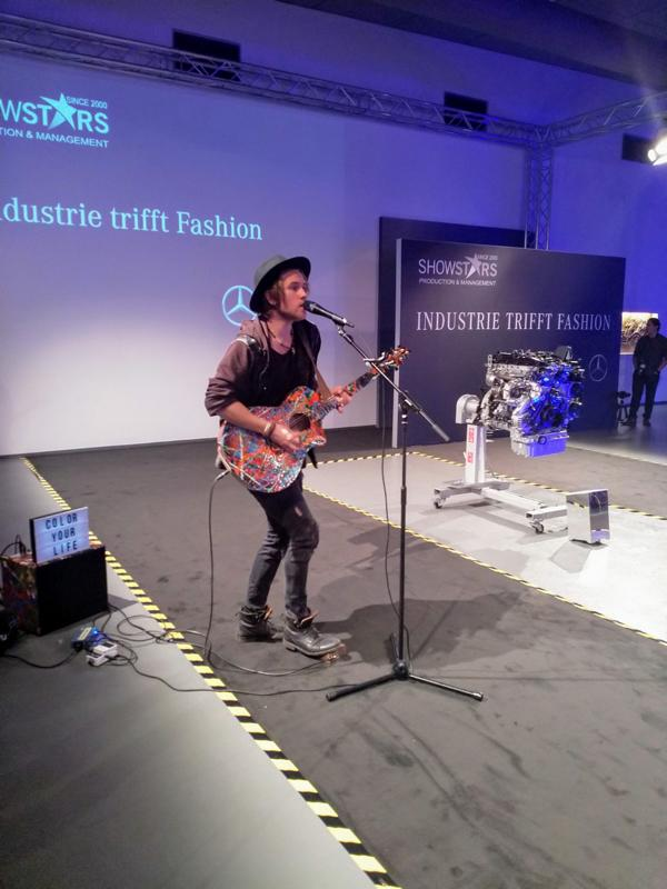 Industrie trifft Fashion,Mercedes-benz-fashion-show 2018, Danny Latendorf