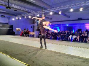 Industrie trifft Fashion,Mercedes-benz-fashion-show 2018 emil kusmirek, Katja Kalingula
