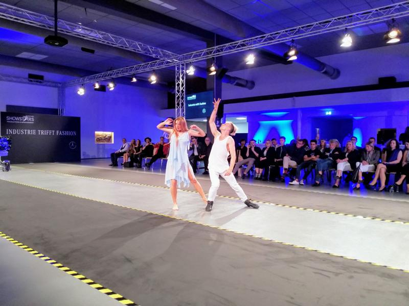 Industrie trifft Fashion,Mercedes-benz-fashion-show 2018, Katja Kalingula, Emil Kusmirek