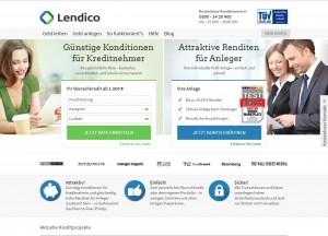 Lendico Startseite