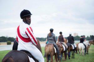 Nana Domena Vip Charity Pferderennen Köln