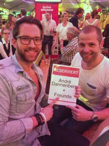 Oliver Sanne Festzelt stars 2017