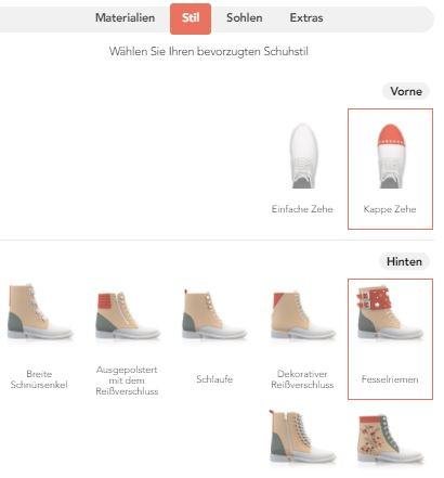 Personalisierbare Schuhe, Girotti
