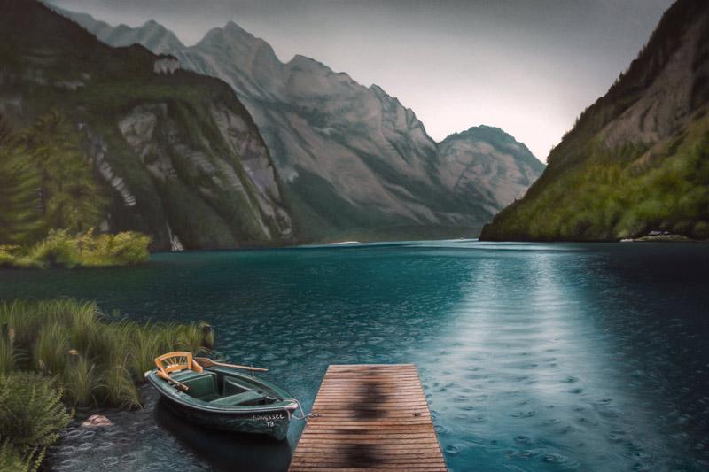 Foto malen lassen von Andrei Art