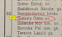 Szekely war Jude.
