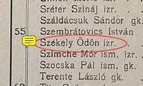 Szekely war Jude.