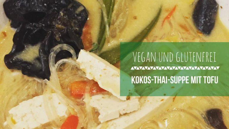 vegane Thai Suppe, asia suppe