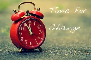 Zeit für Wechsel
