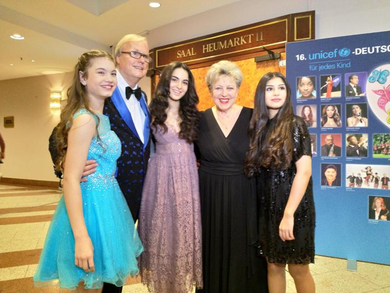 Unicef Gala 2018 Köln, Heribert Klein, Marie-Luise Marjan