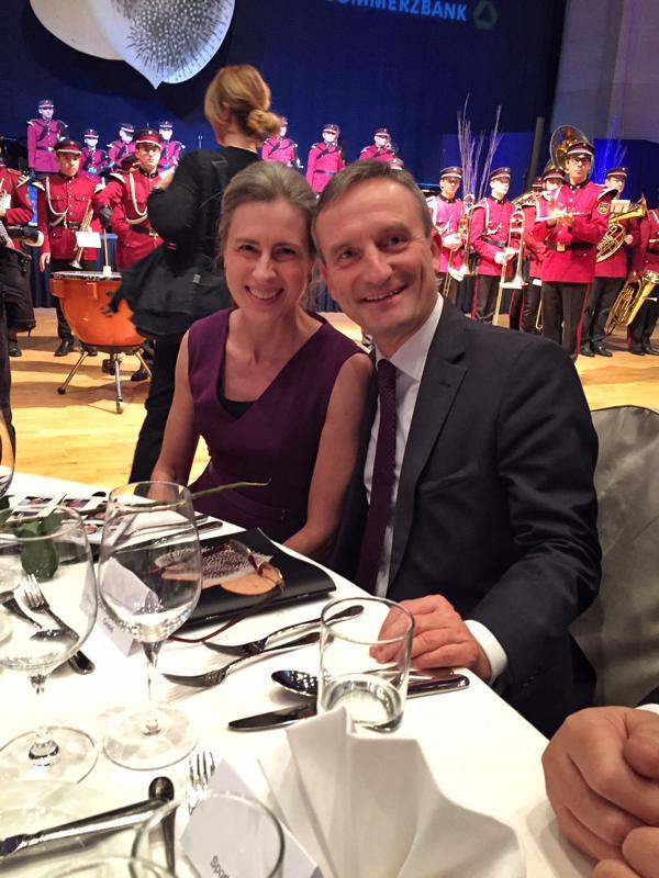 Unicef Gala Neuss 2017, OB Thomas Geisel, Vera Geisel
