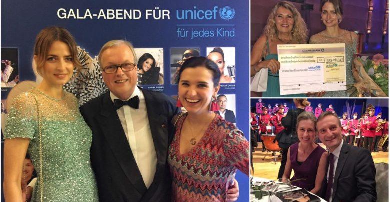 Photo of 3. Unicef-Gala in Neuss 2017: OB Thomas Geisel und Eva Padberg eröffneten die Tanzfläche
