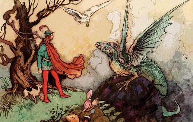 Mittelalter, Drachen