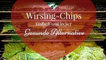 Wirsing Chips Rohkost Chips