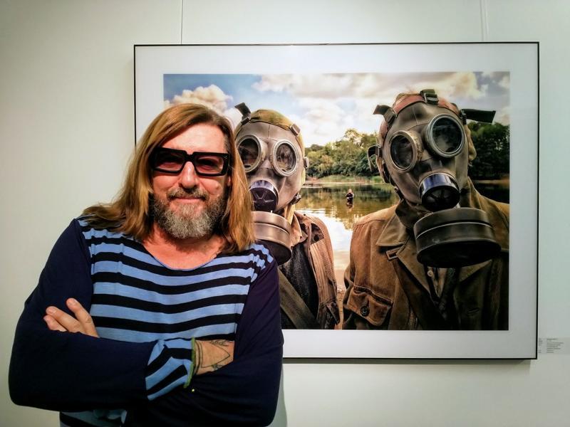 Armin Rhode, Wolfgang Sohn, Gestohlenes Licht Kunstausstellung Sander & Sohn Düsseldorf
