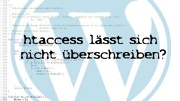 wordpress-htaccess-problem