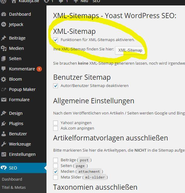 Google Xml Sitemap: Zehn SEO Tipps Mit Und Ohne Wordpress SEO Plugins